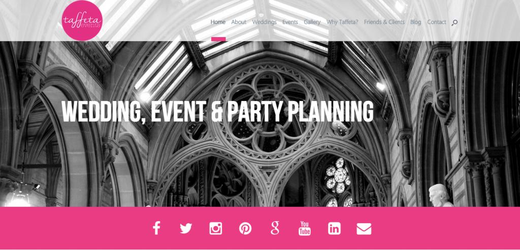 New Taffeta Events Website Launches!